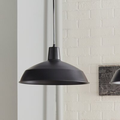 Conover 1-Light Mini Pendant Finish: Matte Black