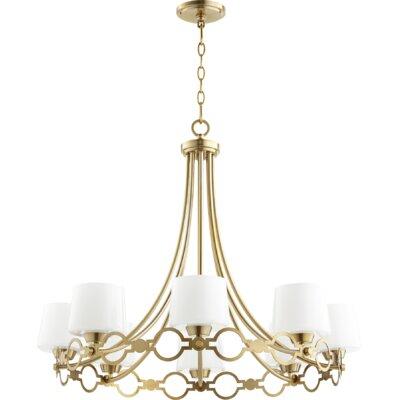 Brayshaw 8-Light Candle-Style chandelier