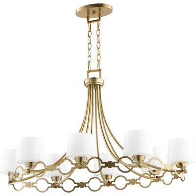 Brayshaw Traditional 8-Light Candle-Style Chandelier