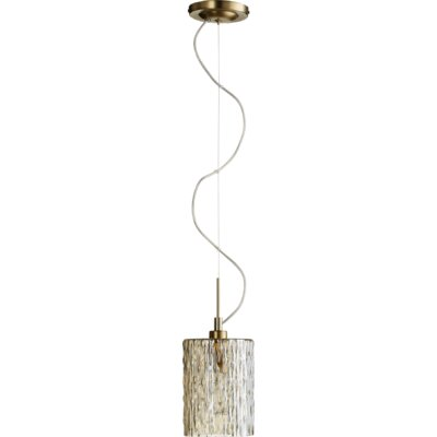 Melisha 1-Light Mini Pendant Size: 11 H x 5.25 W