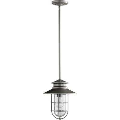 Sloane 1-Light Mini Pendant Finish: Graphite