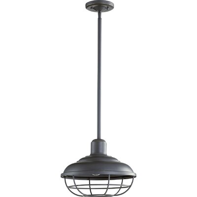 Garrisons 1-Light Mini Pendant Finish: Old World