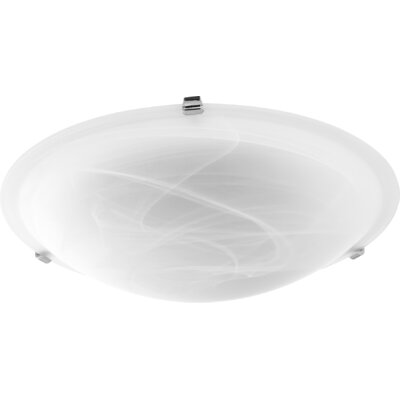 Mirella 4-Light Flush Mount Fixture Finish: Polished Nickel