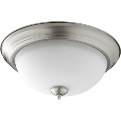Buttler 3-Light Flush Mount