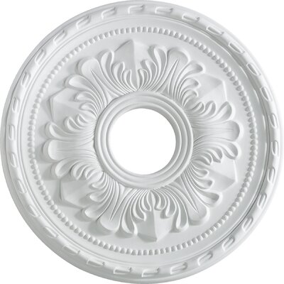 17 Ceiling Medallion in Studio White