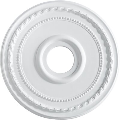 17.5 Ceiling Medallion in Studio White