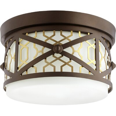 Renzo 2-Light Flush Mount