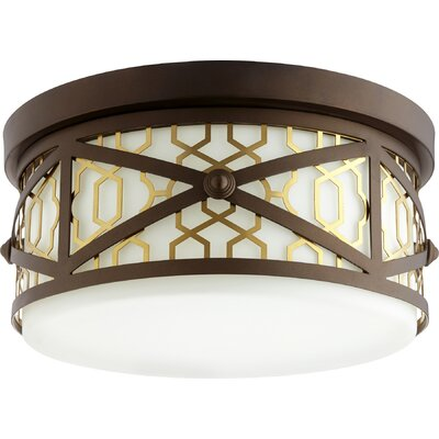 Renzo 3-Light Flush Mount