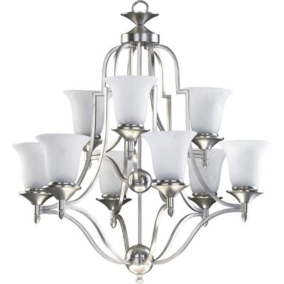 Coventry 9-Light Shaded Chandelier