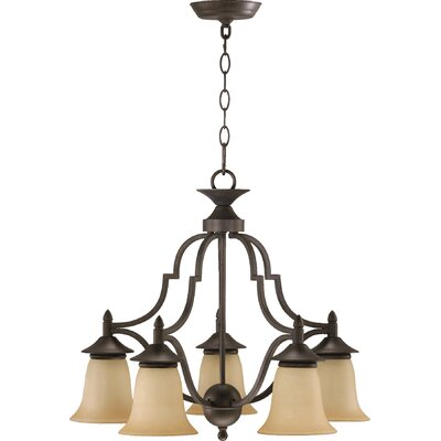 Hertz 5-Light Shaded Chandelier