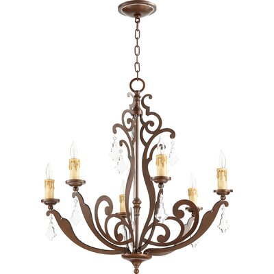 Montgomery 6-Light Candle-Style Chandelier