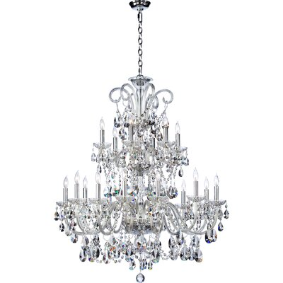 Bohemian Katerina 18-Light Chandelier Color: Imperial Crystal
