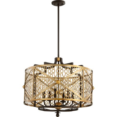 Renzo 6-Light Drum Chandelier