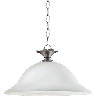 Coventry 1-Light Pendant Finish: Satin Nickel