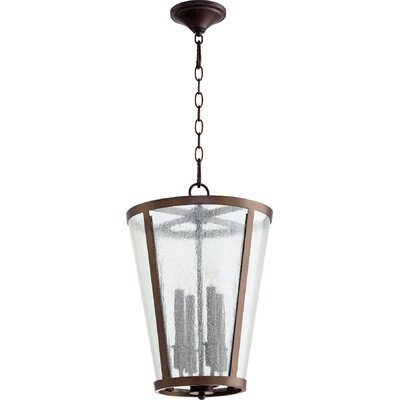 4-Light Foyer Pendant Finish: Oiled Bronze