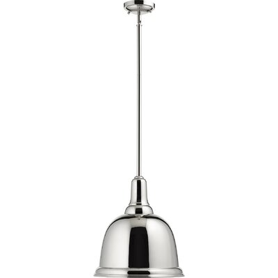 1-Light Pendant Finish: Polished Nickel