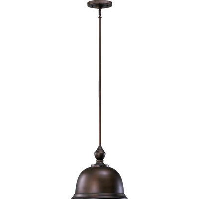 Transitional 1-Light Pendant Finish: Oiled Bronze