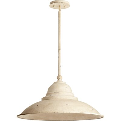 1-Light Mini Pendant Finish: Persian White