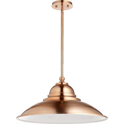 1-Light Mini Pendant Finish: Satin Copper