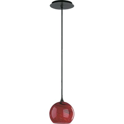 1-Light Globe Pendant Finish: Old World
