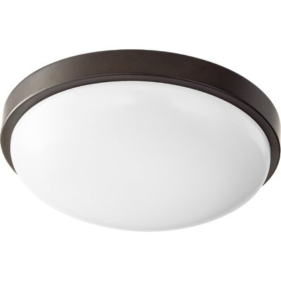 1-Light Flush Mount Size: 3.25 H x 11.5 W x 11.5 D