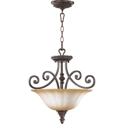 Summerset 3-Light Convertible Inverted Pendant