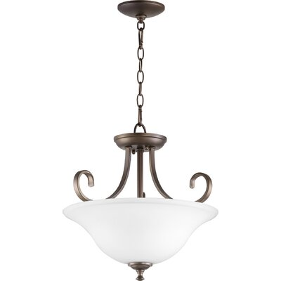 Celesta 2-Light Inverted Bowl Pendant