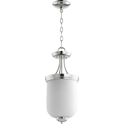 Enclave 2-Light Bowl Pendant Finish: Polished Nickel