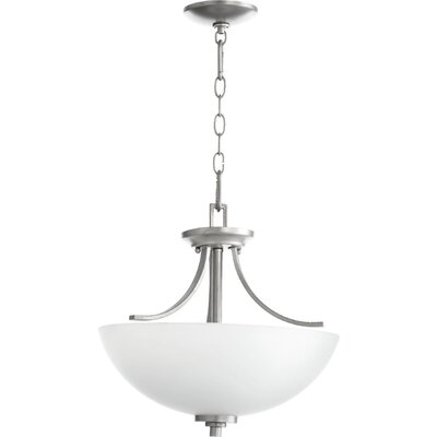 Reyes 3-Light Pendant Finish: Classic Nickel
