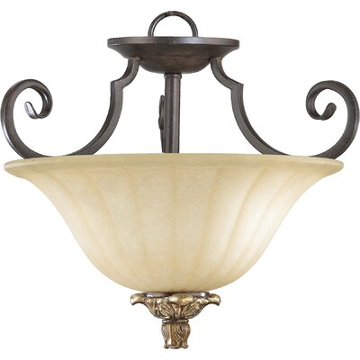 Capella 2-Light Convertible Inverted Pendant