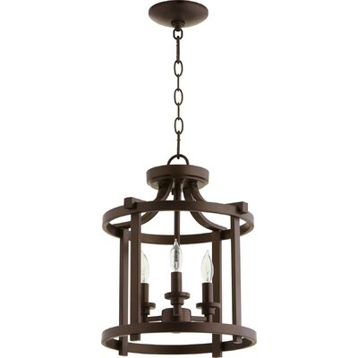Lancaster 3-Light Foyer Pendant Finish: Oiled Bronze