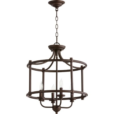Rossington 4-Light Foyer Pendant Finish: Oiled Bronze