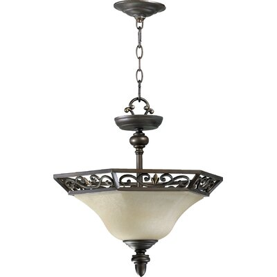 Marcela 2-Light Convertible Inverted Pendant