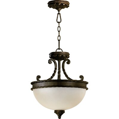 Alameda 2-Light Dual Mount Inverted Pendant