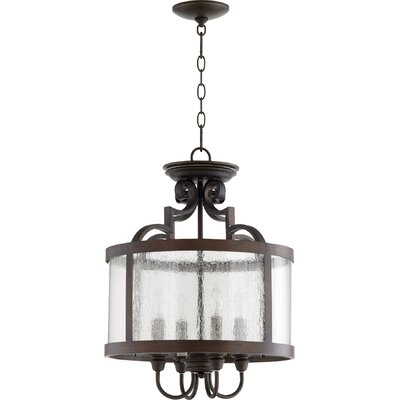 Champlain 4-Light Drum Pendant Finish: Vintage Copper