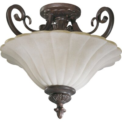 Coronado 2-Light Convertible Pendant