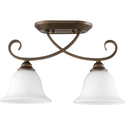 Celesta 2-Light Semi Flush Mount