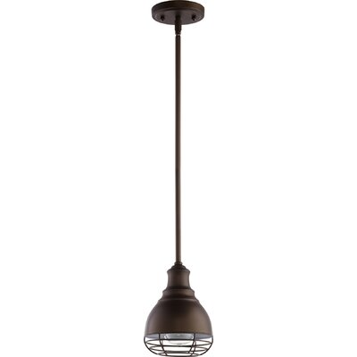 Arbor 1-Light Mini Pendant Finish: Oiled Bronze