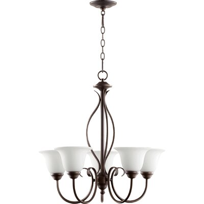 Spencer 5-Light Shaded Chandelier
