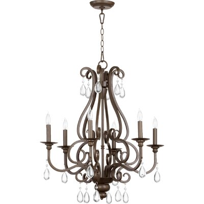 Anders 6-Light Candle-Style Chandelier