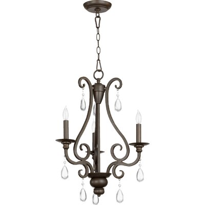 Anders 3-Light Candle-Style Chandelier