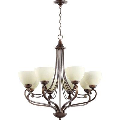 Lariat 8-Light Shaded Chandelier