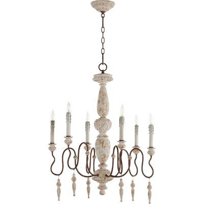 La Maison 6-Light Candle-Style Chandelier