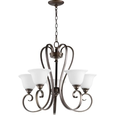 Celesta 5-Light Shaded Chandelier