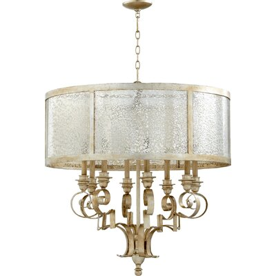 Champlain 8-Light Drum Chandelier Size: 33 H x 30 W x 32.5 D
