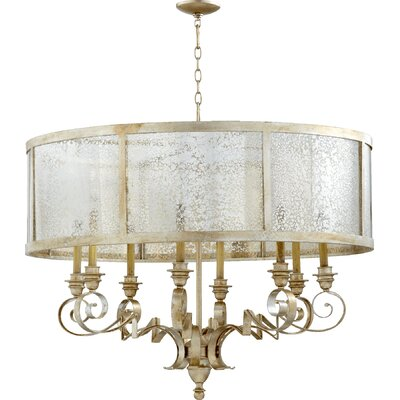 Champlain 8-Light Drum Chandelier Size: 40.5 H x 38 W x 30.5 D