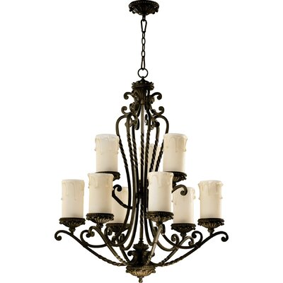 Alameda 9-Light Shaded Chandelier