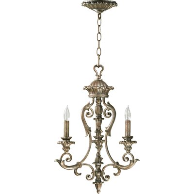 Barcelona 3-Light Candle-Style Chandelier