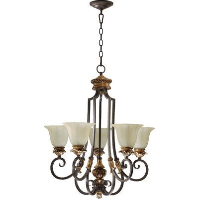 Capella 5-Light Shaded Chandelier