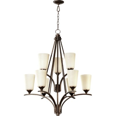 Winslet II 9-Light Shaded Chandelier